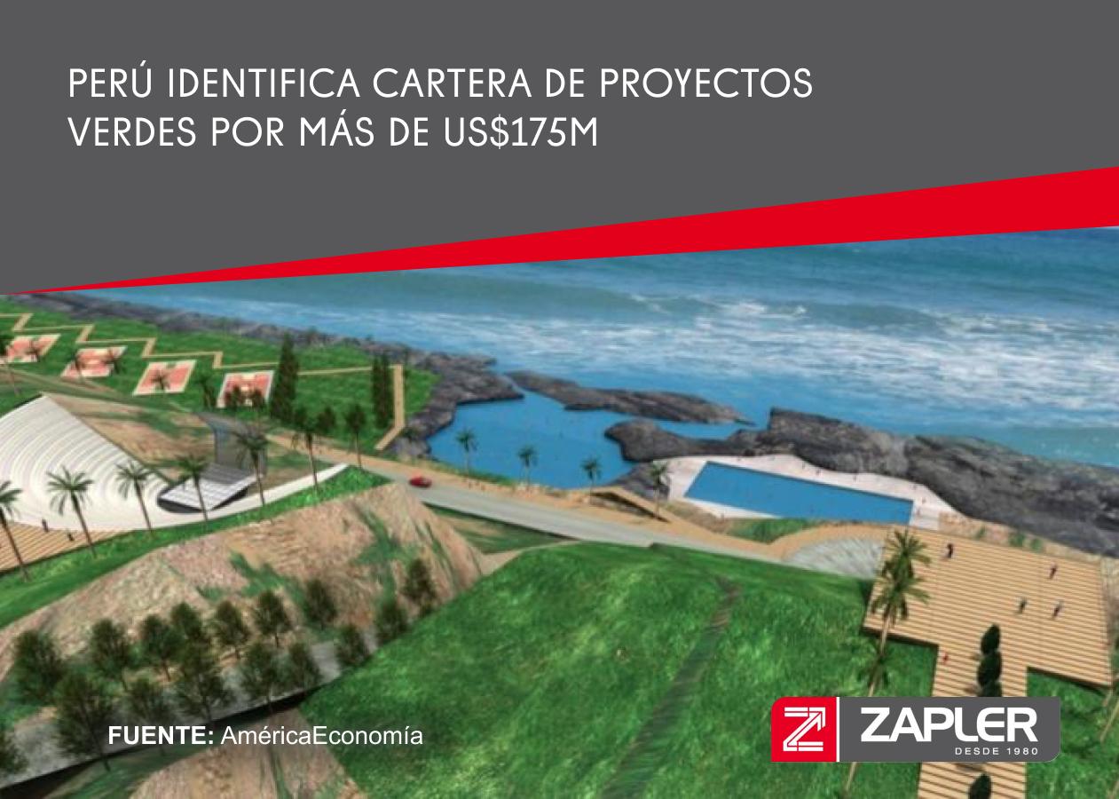 Perú identifica cartera de proyectos verdes por más de US$175M