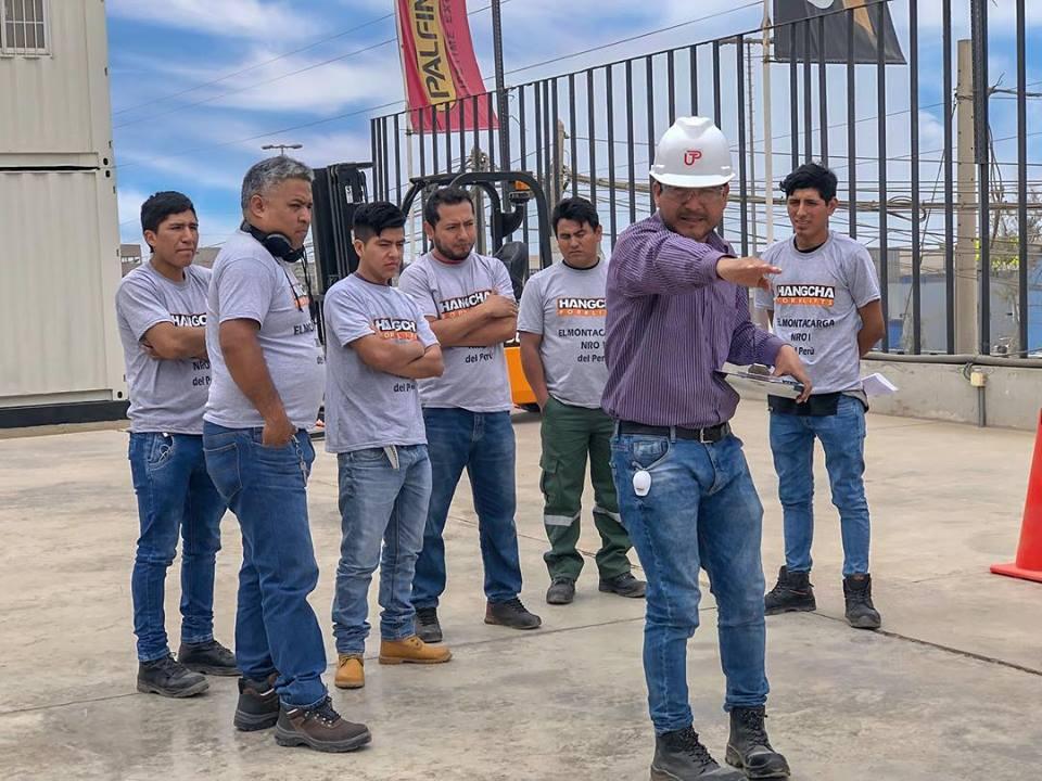 Se realizó el primer torneo para operadores de montacargas en Zapler