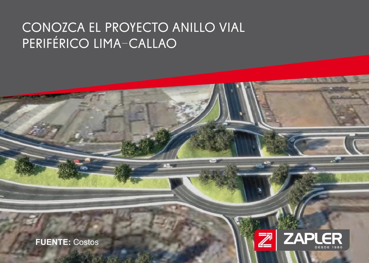 Conozca el proyecto Anillo Vial Periférico Lima-Callao